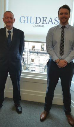 Andrew and Sam have joined Gildeas in Edinburgh